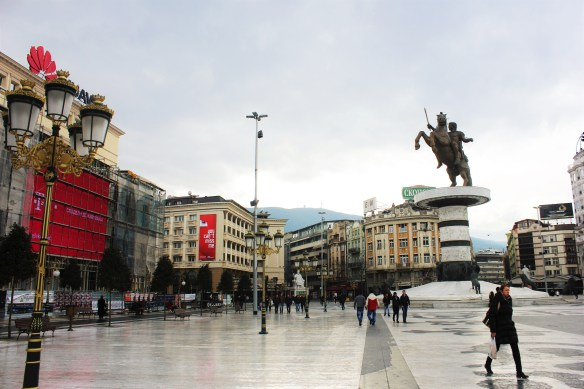 Skopje city centre by day Macedonia - Charlie on Travel
