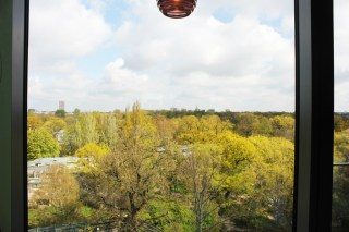 25hours Bikini Berlin Review - green Jungle room view - Charlie on Travel