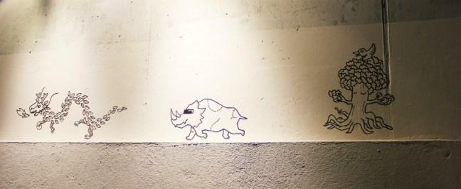 25hours Bikini Berlin Review - wall art - Charlie on Travel