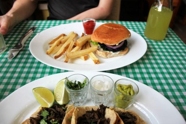 Avocado vegetarian in Merida Mexico - Charlie on Travel