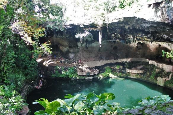 Cenote Zaci Valladolid Mexico - Charlie on Travel