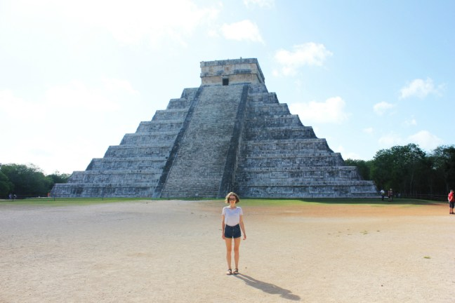 Charlie at Chichen Itza - Charlie on Travel