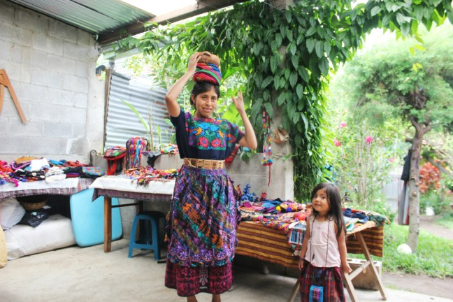 Sylvia teaches us about Guatemalan traditions