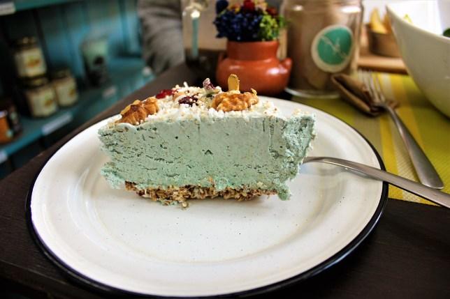 Vegetarian in Mexico City - vegan cake