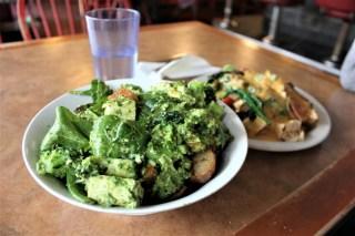 Portland City Guide - Paradox Diner vegetarian food