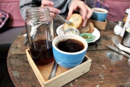 San Miguel de Allende Mexico - lavendar coffee at Cafe Lavanda - Charlie on Travel