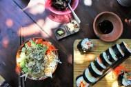 Mazunte Oaxaca Mexico sushi above - Charlie on Travel