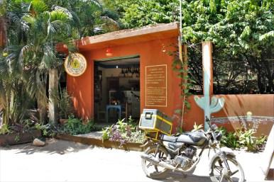 Mazunte Oaxaca Mexico sushi restaurant - Charlie on Travel