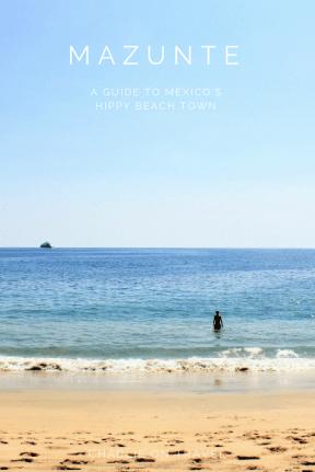 Mazunte Travel Guide - Pinterest Cover