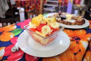 Breakfast at Amor y Cafe Caye Caulker Belize