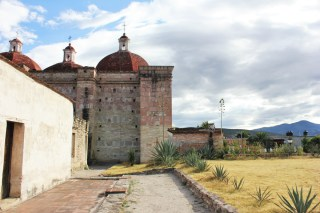 Milta Oaxaca Mexico cathedral - Charlie on Travel