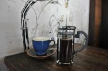 Spiced black coffee