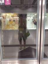 Waiting for metro ride #1