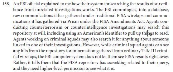FBI FISA search