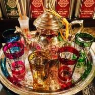 The cutest colourful tea set