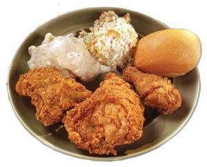 3 pcChicken-Plat Charlie's Chicken Restaurant Joplin MO