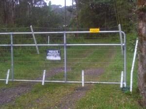 electrified gate