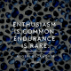 Enthusiasm is common. Endurance is rare - Angela Duckworth