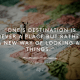 One's destination is never a place - henry miller