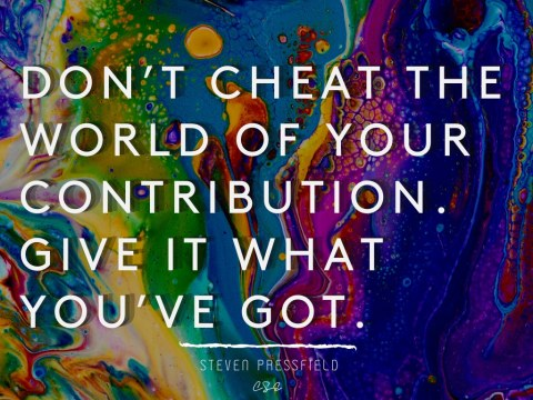 dont cheat - steven pressfield