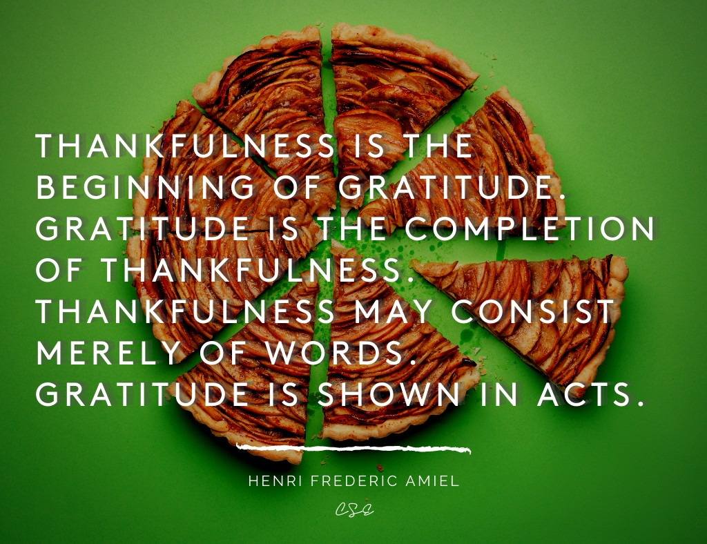 Alder Koten - Executive Search Consultant - Mexico - USA - Thankfulness is the beginning of gratitude - Motivation - Inspiration