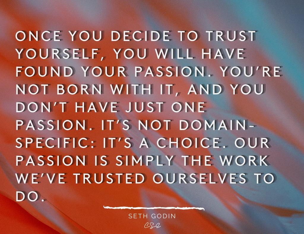 Alder Koten - Executive Search Consultant - Mexico - USA - Decide To Trust Yourself- Motivation - Inspiration