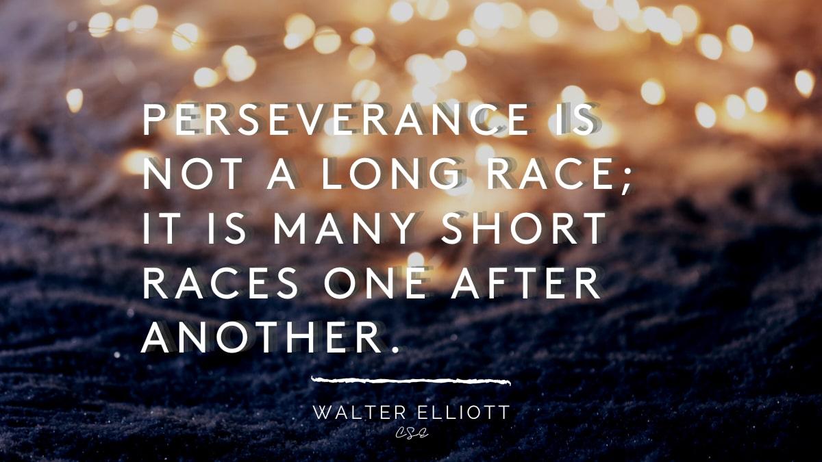 Alder Koten - Executive Search Consultant - Mexico - USA - Perseverance is not a long race- Motivation - Inspiration