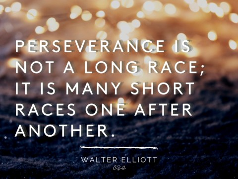 Alder Koten - Executive Search Consultant - Mexico - USA - Perseverance is not a long race- Motivation - Inspiration