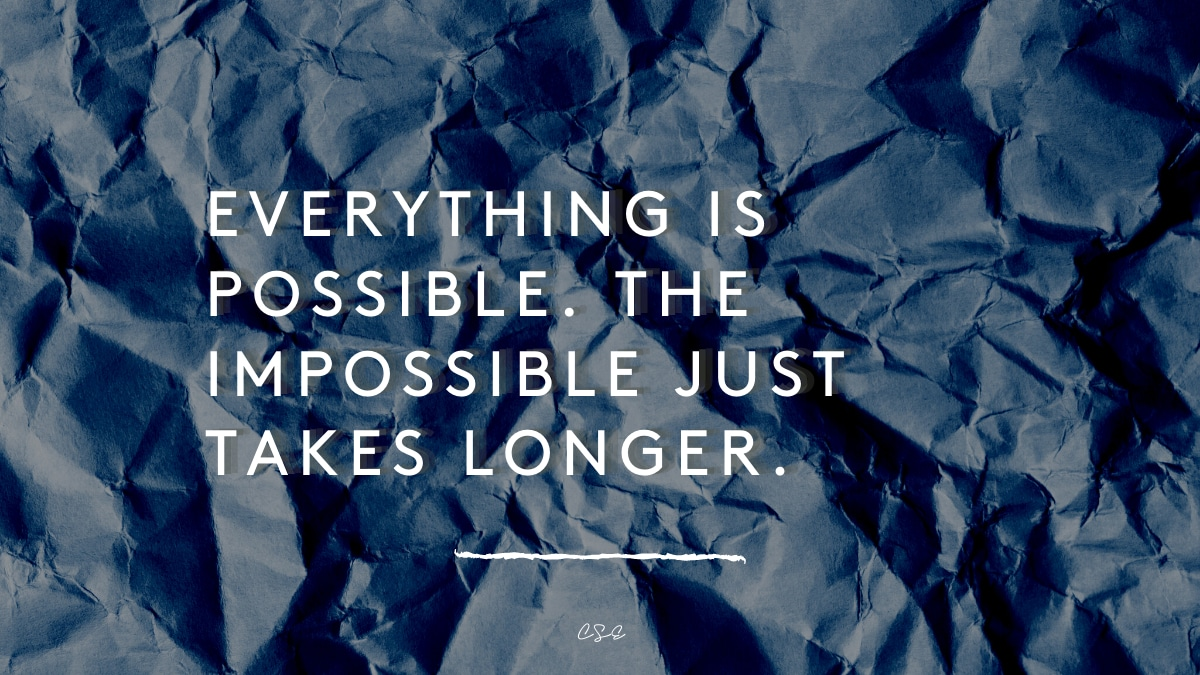 Alder Koten - Executive Search Consultant - Mexico - USA - Everything is possible. The impossible just takes longer. - Motivation - Inspiration