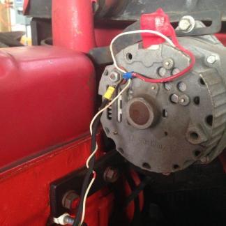 Delco alt on Farmall M tractor
