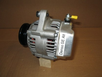 This alternator is very small (4 inches in diameter) and is rated at 45 amps.