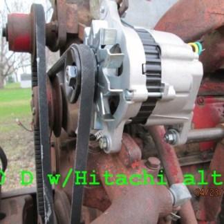 Hitachi fits on F-560 tractor