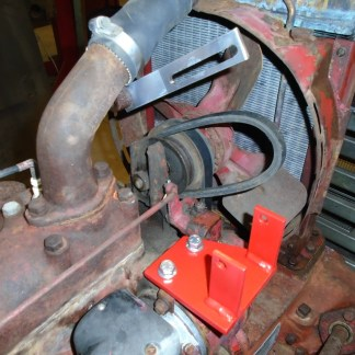 Hitachi Mounting brackets on Farmall CUB