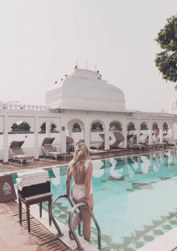 Where to stay in Udaipur: Taj Lake Palace