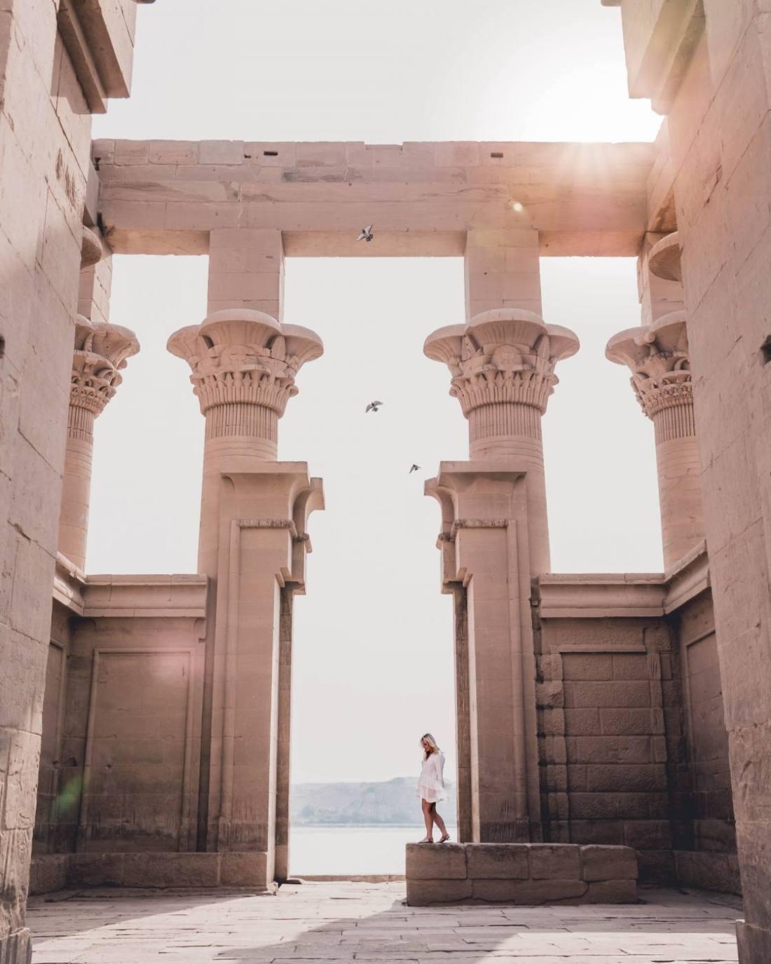 philae temple, egypt travel, egypt photography