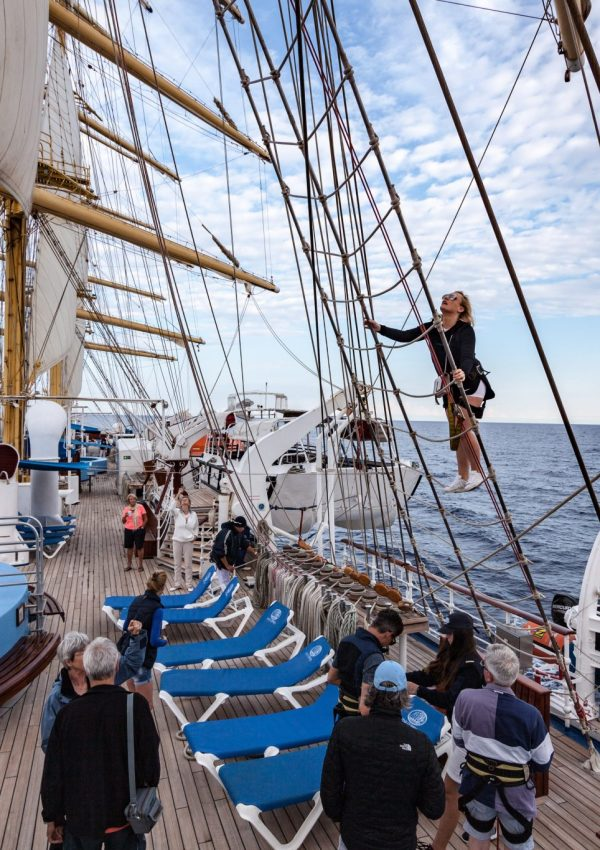 What to expect from a Star Clippers cruise?