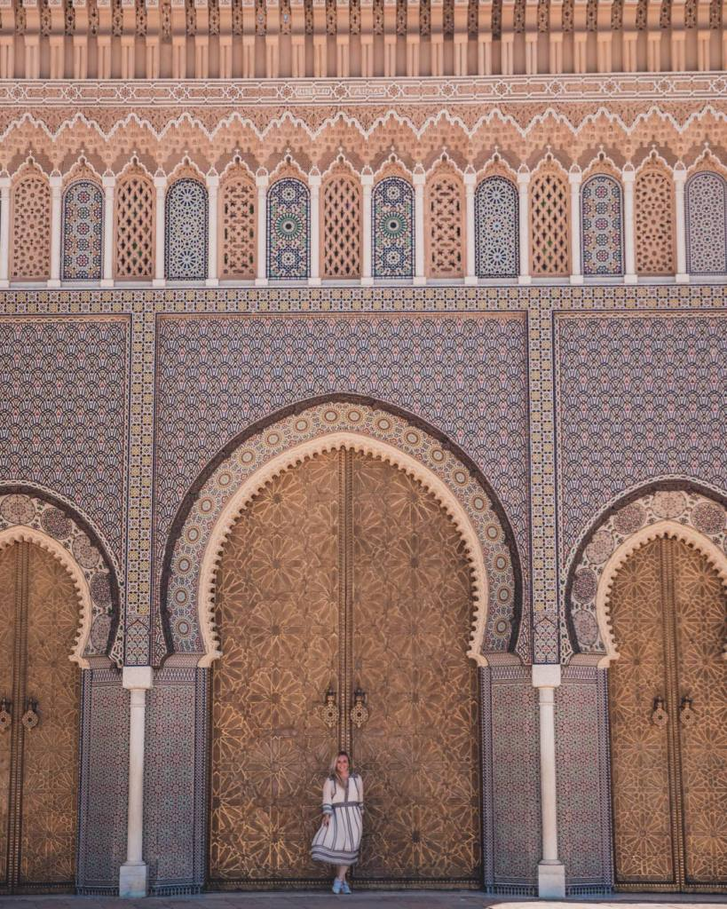 The royal palace in Fez