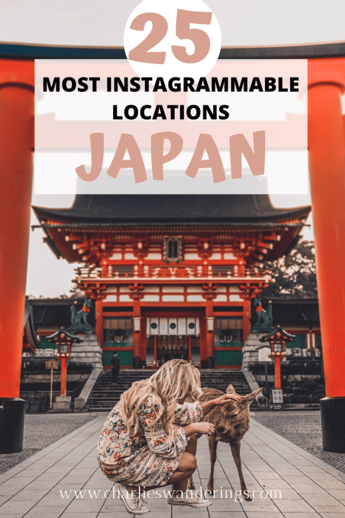 The Most Instagrammable places in Japan