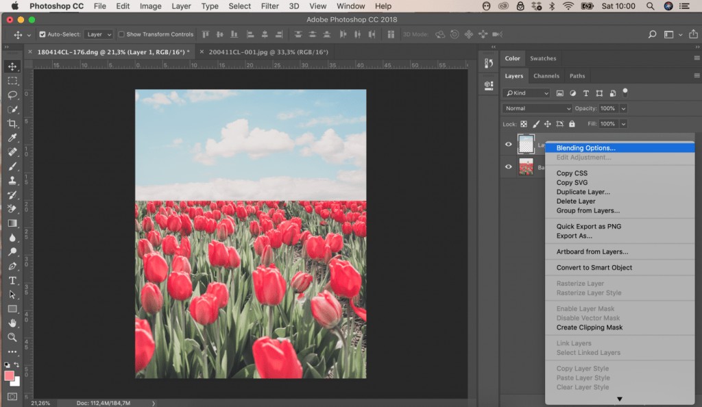 How to Replace the Sky in Photoshop CC