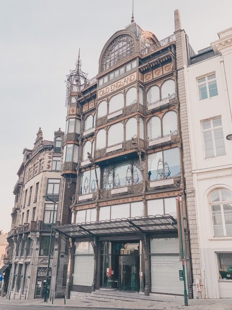 The musical instruments museum in Brussels