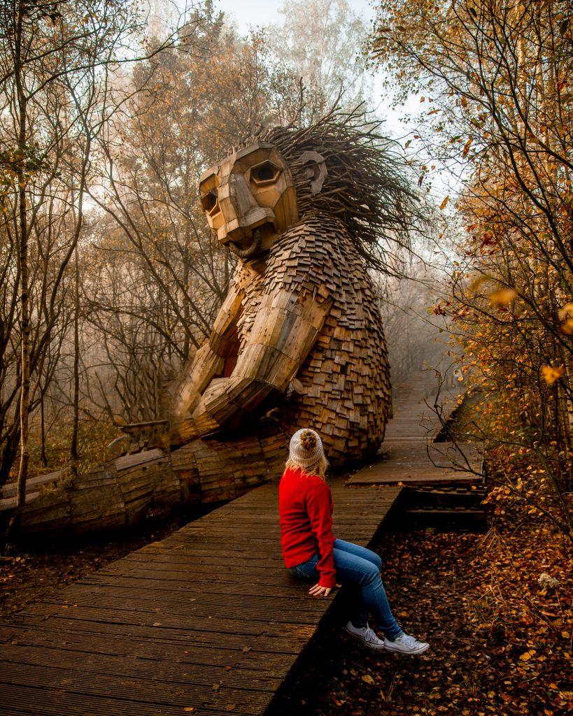 Where To Find The Hidden Trolls in De Schorre in Belgium