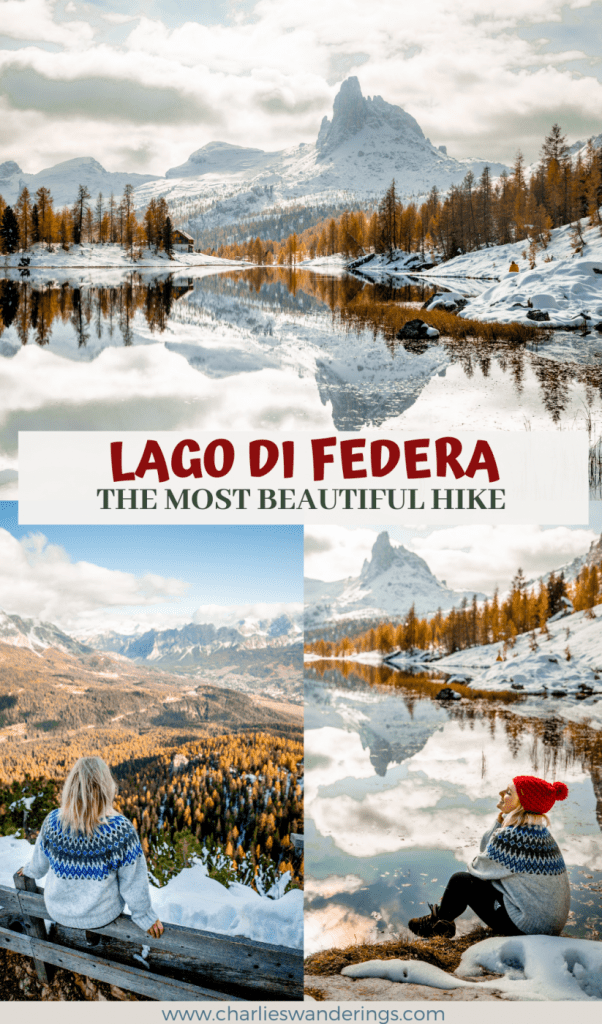 How To Visit Lago Di Federa - A Beautiful Day Hike in The Dolomites