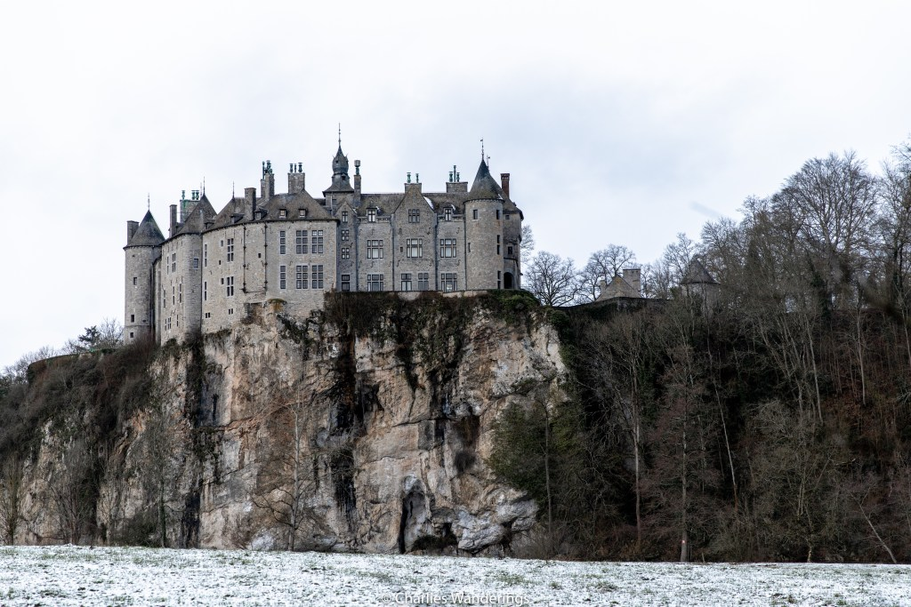 medieval castle on top of a cliff