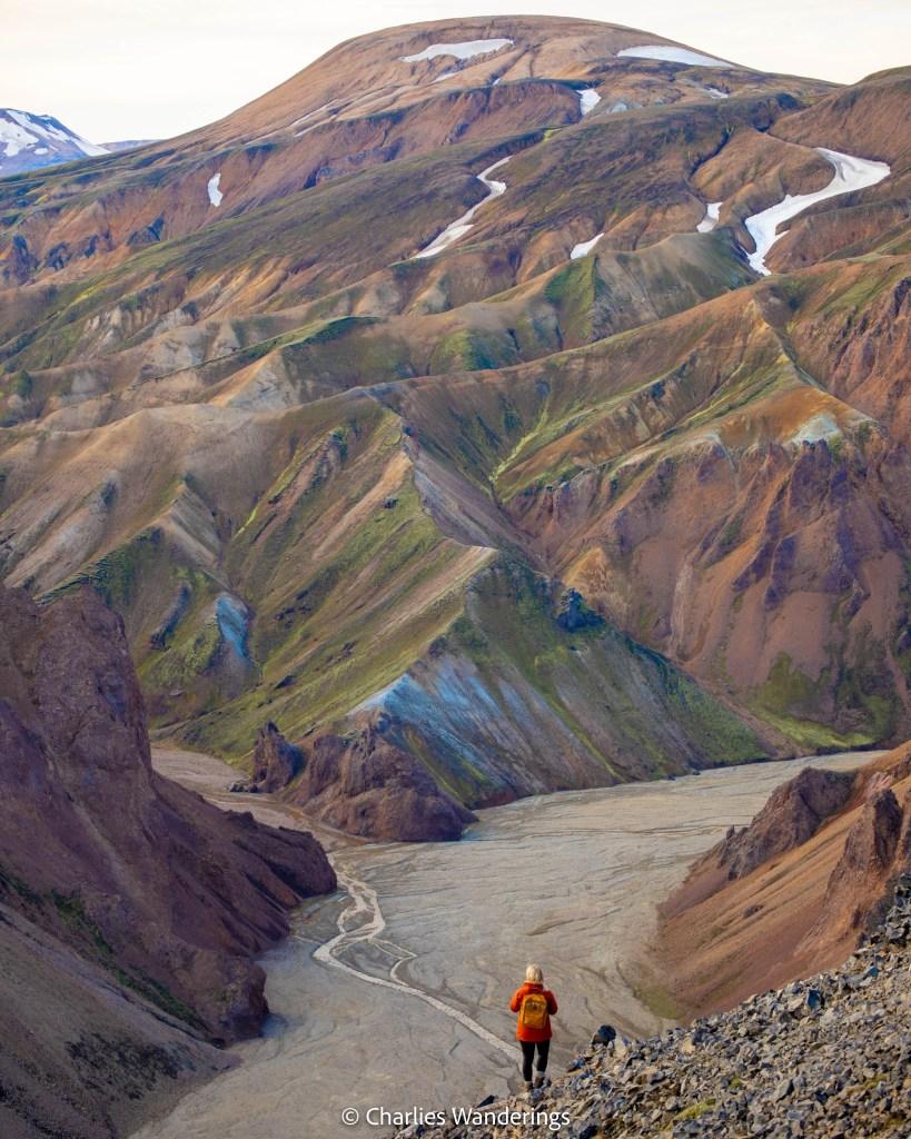 The Best Hike In Landmannalaugar - The Mount Blahnukur Hiking Trail