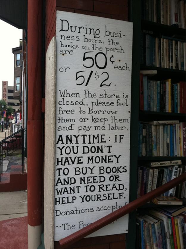 Paradox bookstore