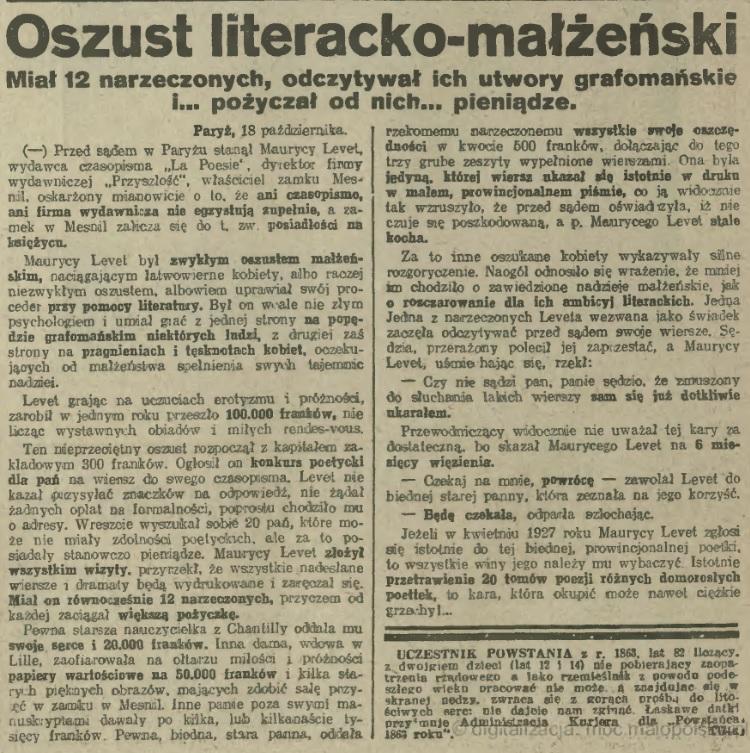 IKC_1926_nr291_dn22X_oszust_literacko_małzenski