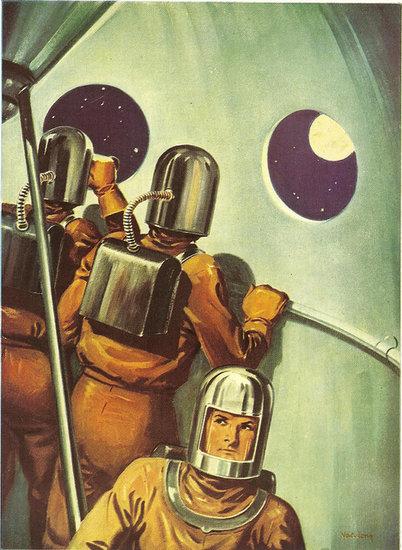 Co my tam mamy? Jakiś Księżyc powiadacie? Źródło: http://www.geeksugar.com/Vintage-Space-Posters-31003997?image_nid=31004009