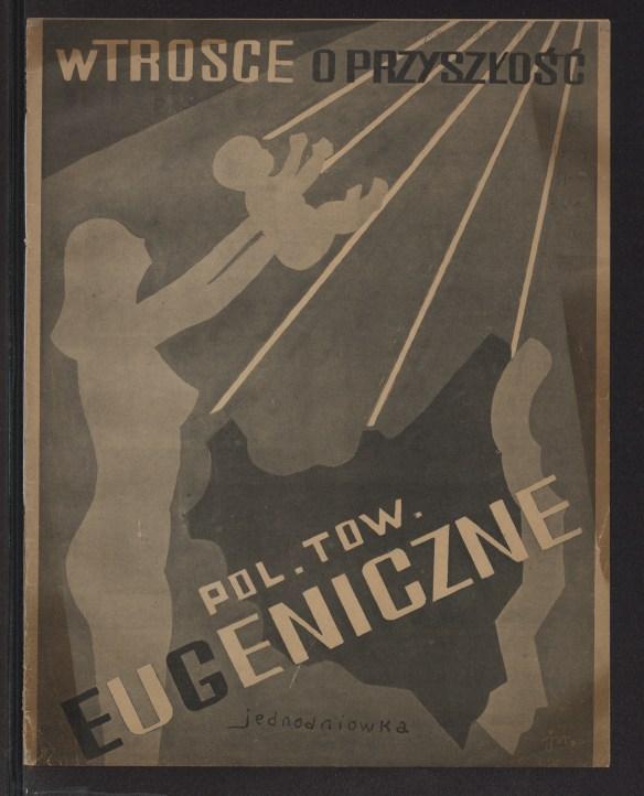 Jednodniówka Polskiego Towarzystwa Eugenicznego z roku 1936. Źródło: Polona