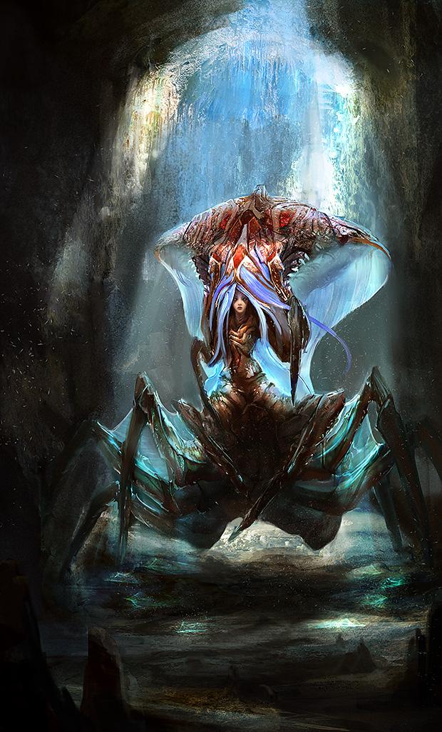 Być może takie stworki przeklęte przez czarodziejów z Charona można było napotkać. Źródło: http://www.deviantart.com/digitalart/?q=curse&offset=25