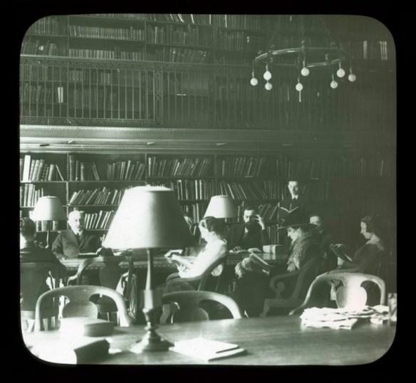 Biblioteka słowiańska w New York Public Library. Źródło: https://flic.kr/p/5JQ9UC